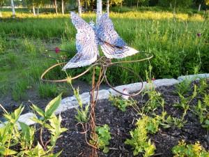 Josefin Bergström har gjort denna vackra fjäril!